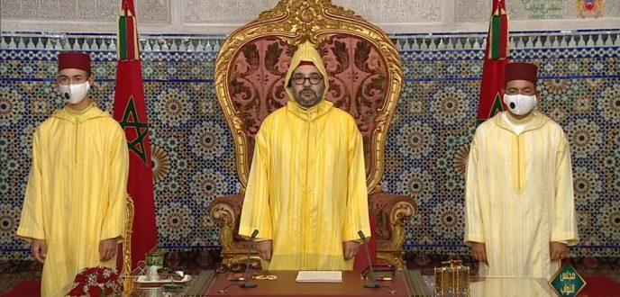 وزارة القصور الملكية تكشف عن توقيت خطاب الملك بمناسبة عيد العرش