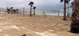 نشرة خاصة تحذر سكان المدن الشمالية من هبوب رياح قوية مصحوبة بالغبار