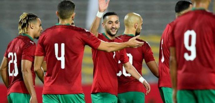 إقصائيات كأس إفريقيا للأمم.. المنتخب المغربي يمطر شباك إفريقيا الوسطى برباعية