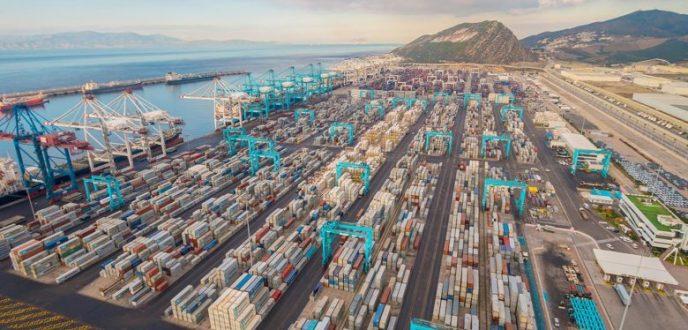 طنجة المتوسط: الأنشطة المينائية تواصل النمو والمركب المينائي يكرس ريادته بالمتوسط