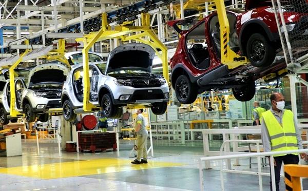 """مصنع """"رونو"""" طنجة ينتج أزيد من 209 آلاف سيارة خلال 2020 رغم أزمة كورونا"""