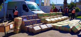 إجهاض عملية كبرى للتهريب الدولي للمخدرات وحجز 7 أطنان من مخدر الشيرا