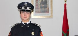 ضابط الأمن رانيا صابوني.. مثال للتفاني والجدية بالمجموعة المتنقلة لحفظ النظام بتطوان