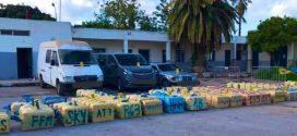 الأمن يحبط عملية تهريب 4 أطنان و779 كلغ من مخدر الشيرا