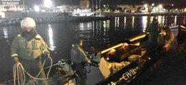 مطاردة قارب بسواحل سبتة تسفر عن حجز أزيد من طن من الحشيش