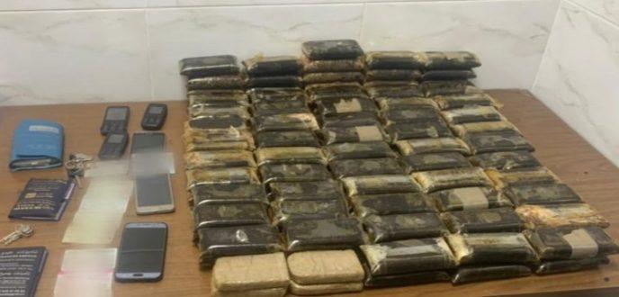 ايقاف 3 أشخاص يتاجرون في المخدرات وبحوزتهم 30 كيلوغراما من الحشيش