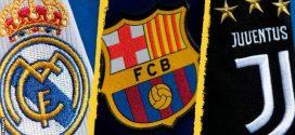 """بسبب الدوري السوبر.. """"الويفا"""" يفتح إجراء تأديبيا في حق برشلونة وريال مدريد وجوفنتوس"""