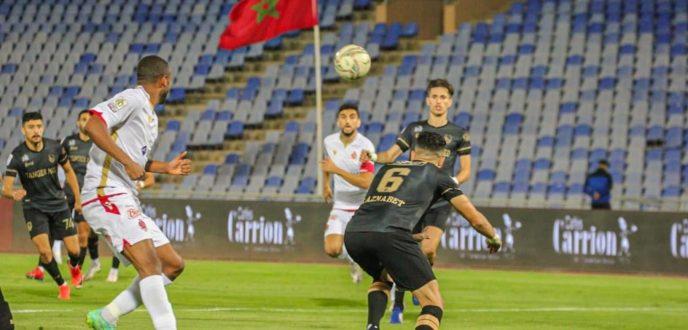المغرب التطواني يزيح الوداد الرياضي بضربات الجزاء ويواجه الجيش الملكي في نهائي كأس العرش