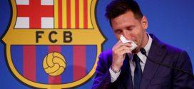 ميسي: لا أصدق أنني سأرحل عن برشلونة وامكانية انتقالي إلى سان جرمان واردة