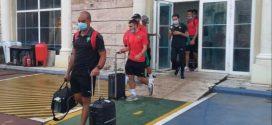 بعثة المنتخب المغربي تصل إلى المغرب قادمة من غينيا