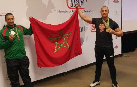 الطنجاوي نزار بليل يفوز بالميدالية البرونزية في بطولة العالم للقوة البدنية