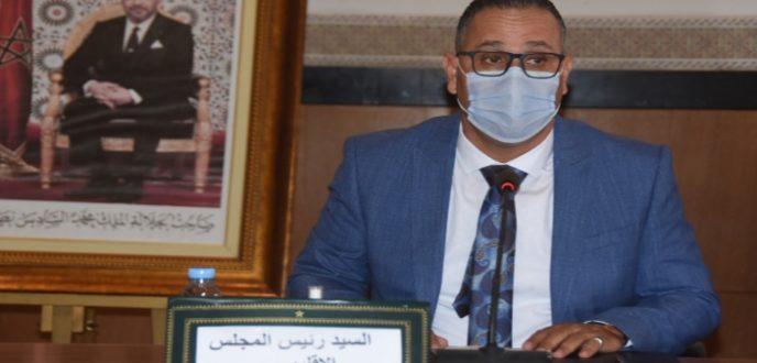 ابراهيم بنصبيح رئيسا جديدا للمجلس الإقليمي لعمالة تطوان