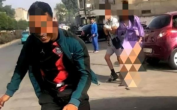 أمن طنجة يفتح تحقيقا بخصوص فيديو التحرش بفتاة ونزع ملابسها بالشارع العام