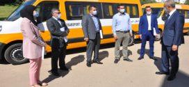 توزيع 35 حافلة جديدة للنقل المدرسي على الجماعات الترابية بإقليم الحسيمة